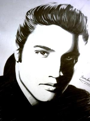 Elvis Presley by bilalo